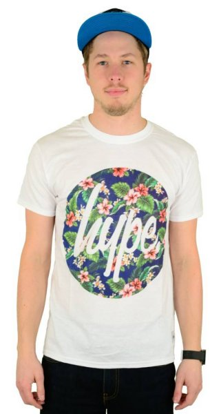 Flower Circle T-Shirt White