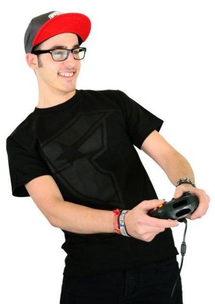 OG Boh T-Shirt Black/Black Größe: S