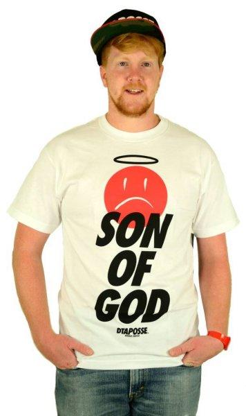 Son of God T-Shirt White/Black/Red