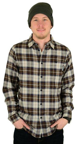 Midnight Woven / Hemd Button Up Navy Größe: S