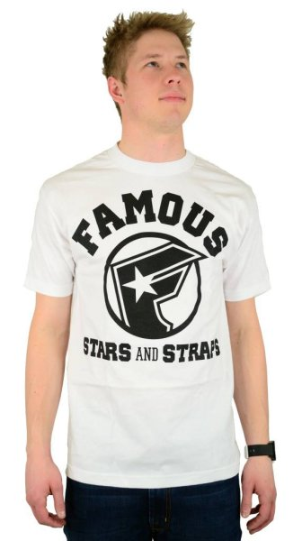 All Stars T-Shirt White/Black Größe: S