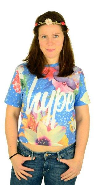 Blue Lagoon kurzes T-Shirt Multi