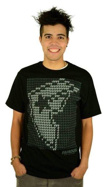 Data Boh T-Shirt Black/Grey/White Größe: S