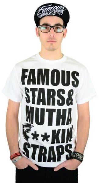 MFS T-Shirt White/Black Größe: S