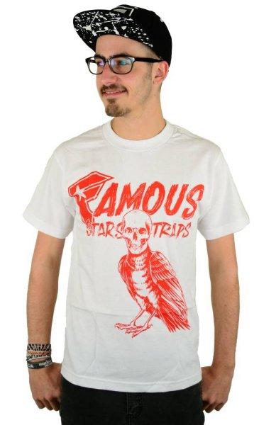 Death Crow T-Shirt White Größe: S