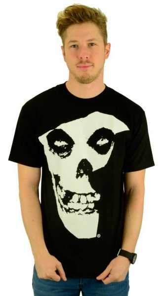 Misfits Badge T-Shirt Black Größe: S