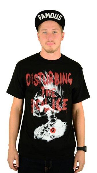 Disturbing the Police T-Shirt Black Grösse: S