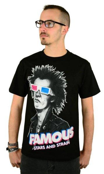 3D Spike T-Shirt Black