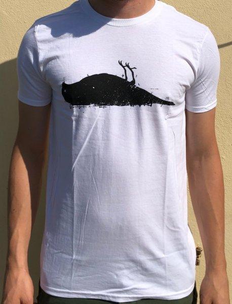 Bird T-Shirt white