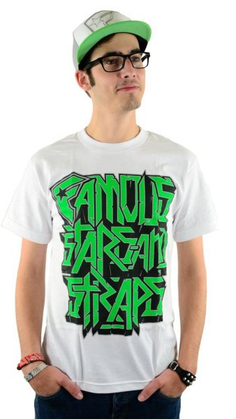 Overstacked T-Shirt White Größe: S