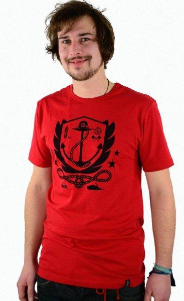Aweigh Slim T-Shirt Red