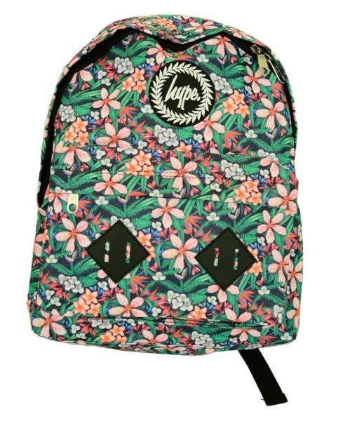Spiral Blossom Backpack Multi