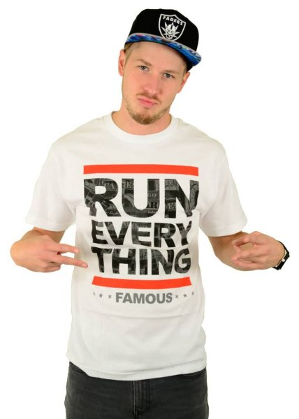 Run Everything T-Shirt White