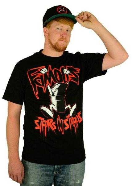 Hanging Boh T-Shirt Black/Red Größe: S