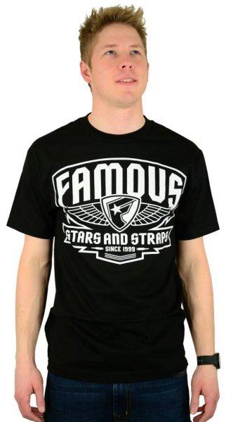 Brigade Patch T-Shirt Black/White Größe: S