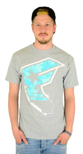 Tropicali Boh T-Shirt Heather Grey Größe: S