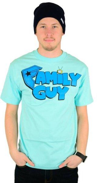 X Family Guy Fam T-Shirt Mint