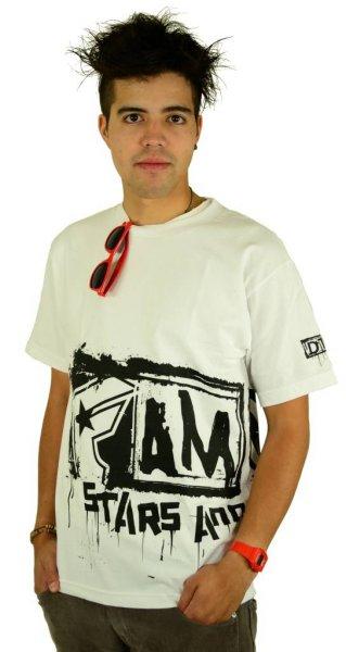 Big Crush T-Shirt White/Black Größe: S