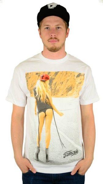 Hitchhiker T-Shirt White Größe: S