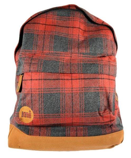 Plaid Backpack Red/Plaid