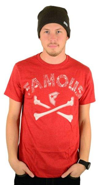 Guilty Bones Premium T-Shirt Red / Heather