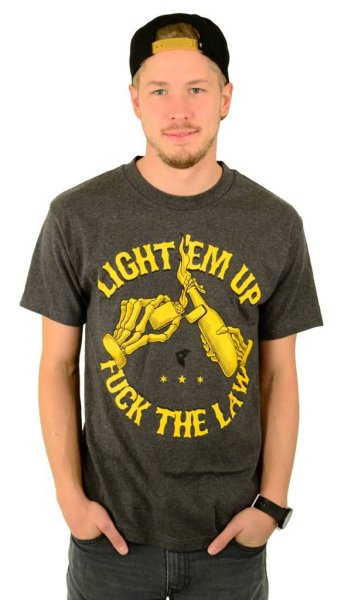 Light em up T-Shirt Charcoal Heather