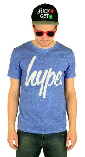 Cyan Speckle T-Shirt Multi