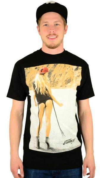 Hitchhiker T-Shirt Black Größe: S