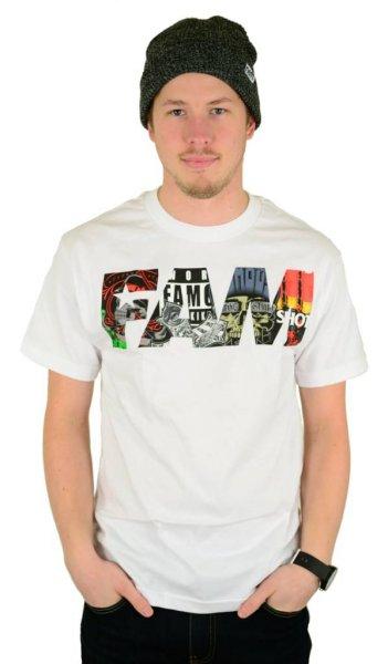 Fill Up T-Shirt White Größe: S