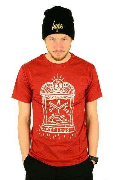 Gravestone T-Shirt Maroon