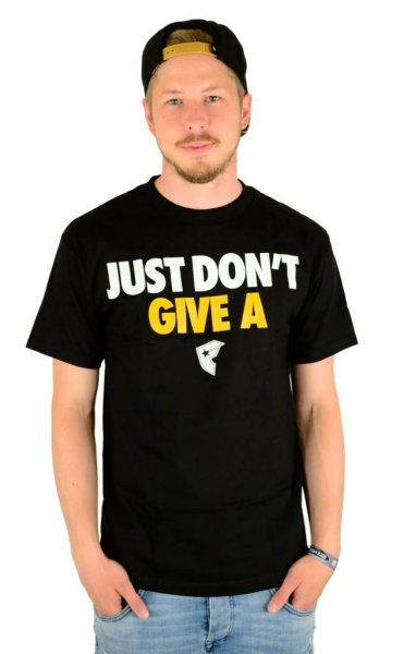 Just DGA T-Shirt Black Größe: S