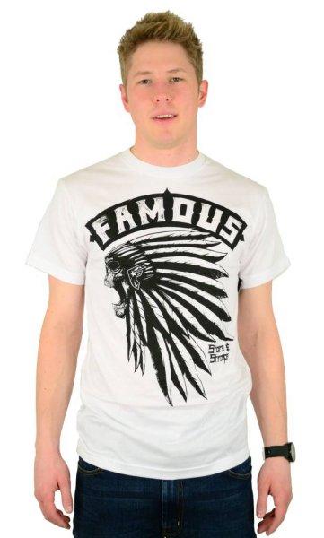 Native T-Shirt White/Black Größe: S