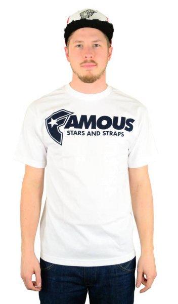 FSAS Staple T-Shirt White/Navy Größe: S
