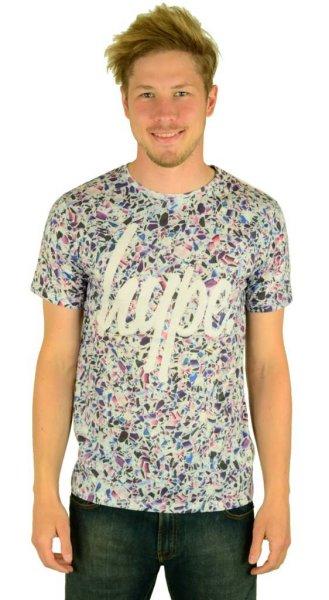 Broken Glass Script T-Shirt Multi