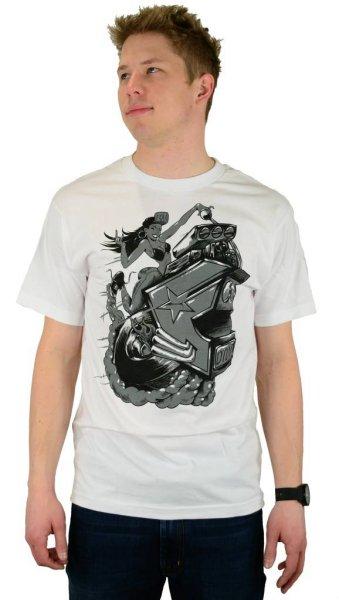 Hot Roddin T-Shirt White