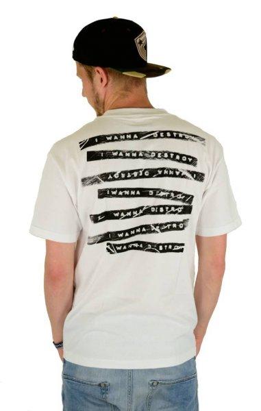 Label Destroyer T-Shirt White