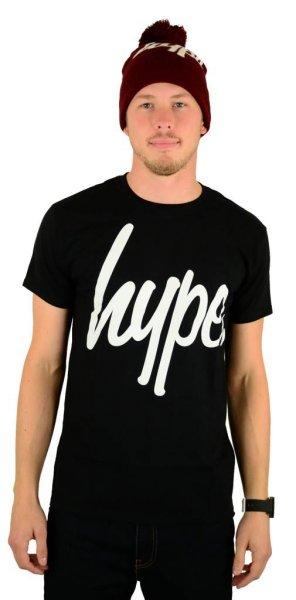 Script T-Shirt Black/White