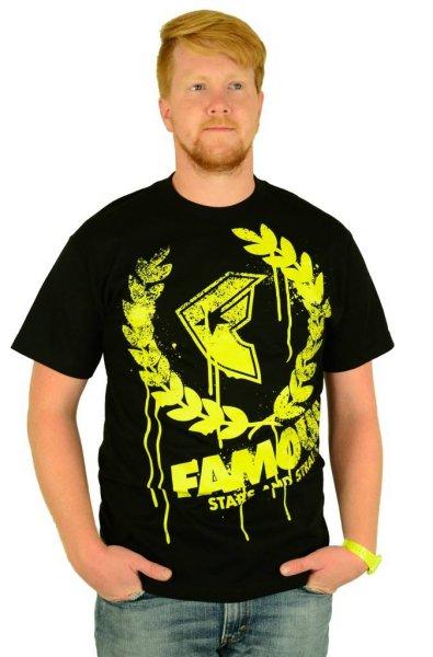 Breakdown T-Shirt Black/Yellow Größe: S