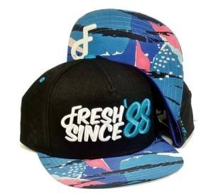 88 to Infinity Snapback Cap Black