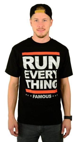 Run Everything T-Shirt Black Größe: S