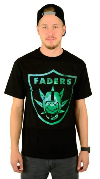Faders T-Shirt Black