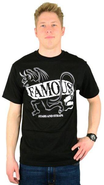 Demon T-Shirt Black/White