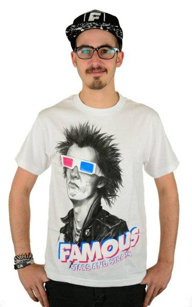 3D Spike T-Shirt White