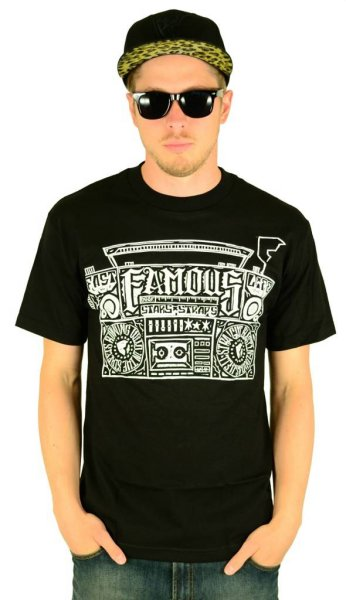 Loud in the Streets T-Shirt Black