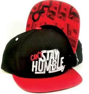 Humble Snapback Cap Black/Red