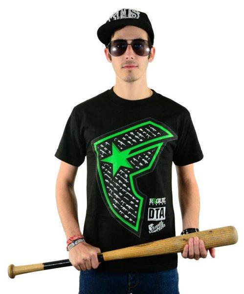 Gunshow Boh T-Shirt Black/Lime Größe: S