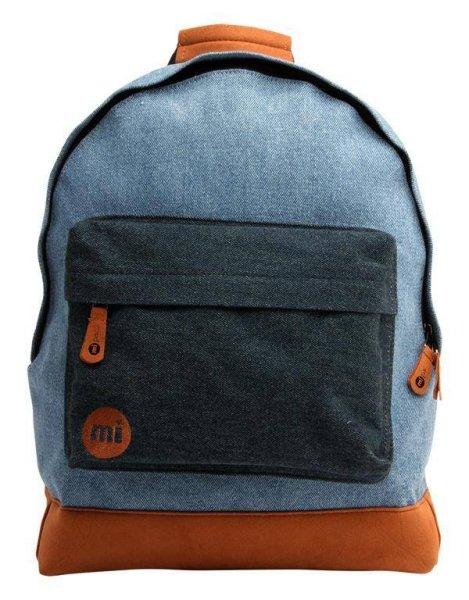 Denim Patch Backpack Stonewash/Indigo