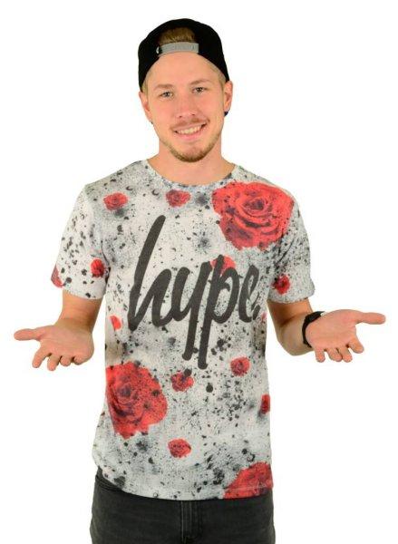 Rose Splat T-Shirt Multi