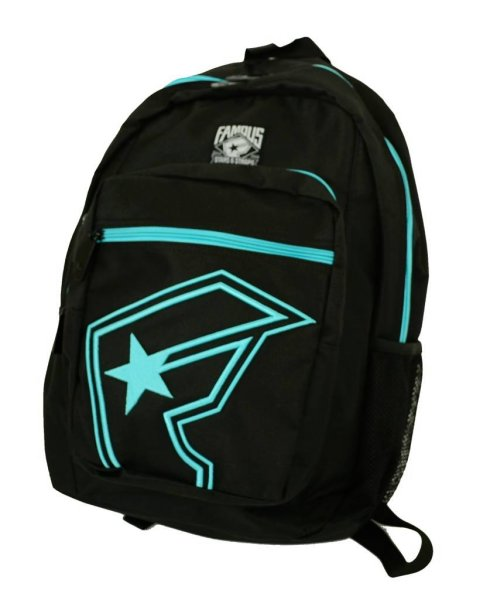 The Half Backpack Black / Lux Blue