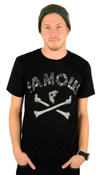 Guilty Bones Premium T-Shirt Black Größe: M